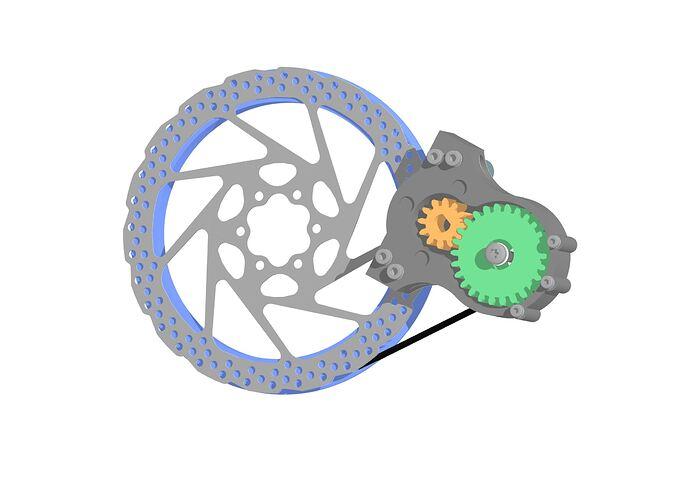 3th rev _ gears 12t 26t